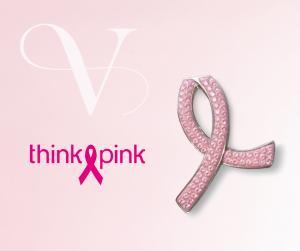 Broche Think Pink